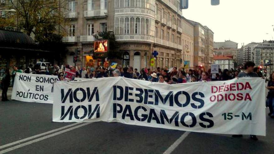 """Manifestación en octubre en Ourense contra la """"deuda odiosa"""""""