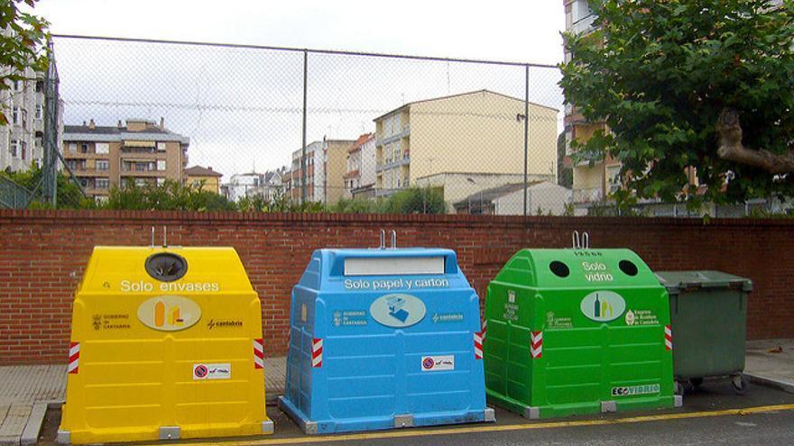 Contenedores. / Foto: Ecoembes