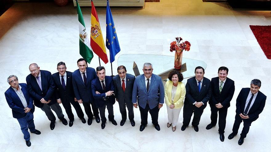 Los rectores de las universidades se han reunido en Sevilla / Foto: Junta de Andalucía
