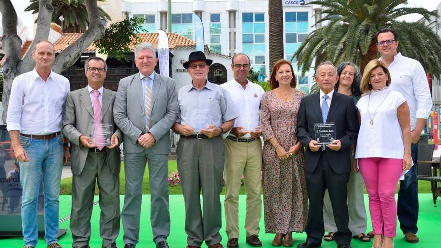 Premiados en los Reconocimientos Turísticos Las Palmas de Gran Canaria 2016. (TONY HERNÁNDEZ)