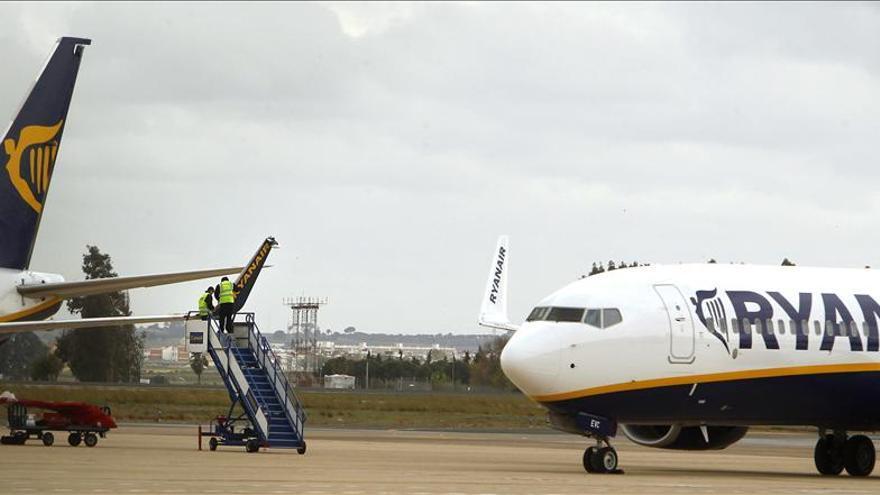 Un avión de Ryanair procedente de Valencia aterriza de emergencia en Génova