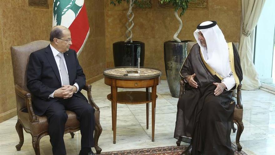 """El presidente libanés pide no recurrir a """"actores externos"""" para lograr la unidad"""