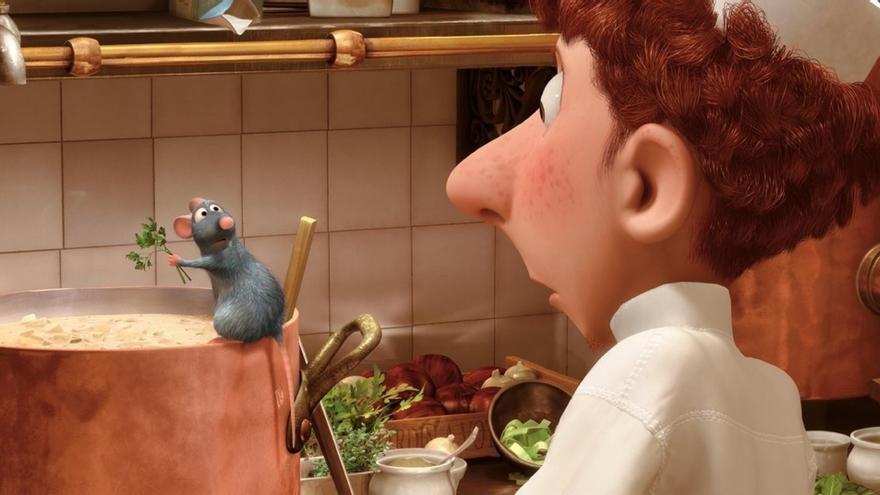 La incursión culinaria de Pixar con Ratatouille