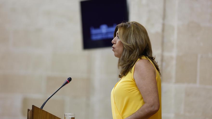 Susana Díaz comparece en el Parlamento esta semana en el Debate sobre el Estado de la Comunidad