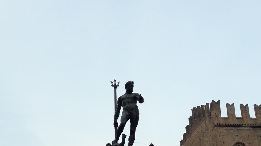 La escultura de Neptuno es uno de los referentes de Bolonia