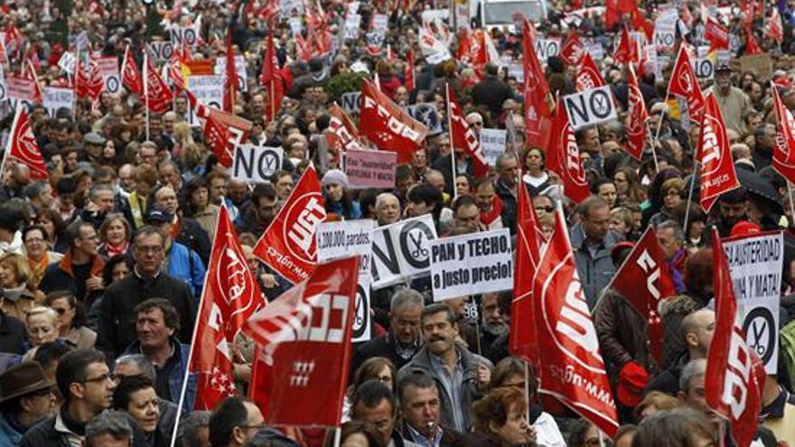 Imágenes del Primero de Mayo en España #1