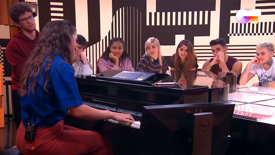 Amaia cantando en la Academia de 'OT 2020'