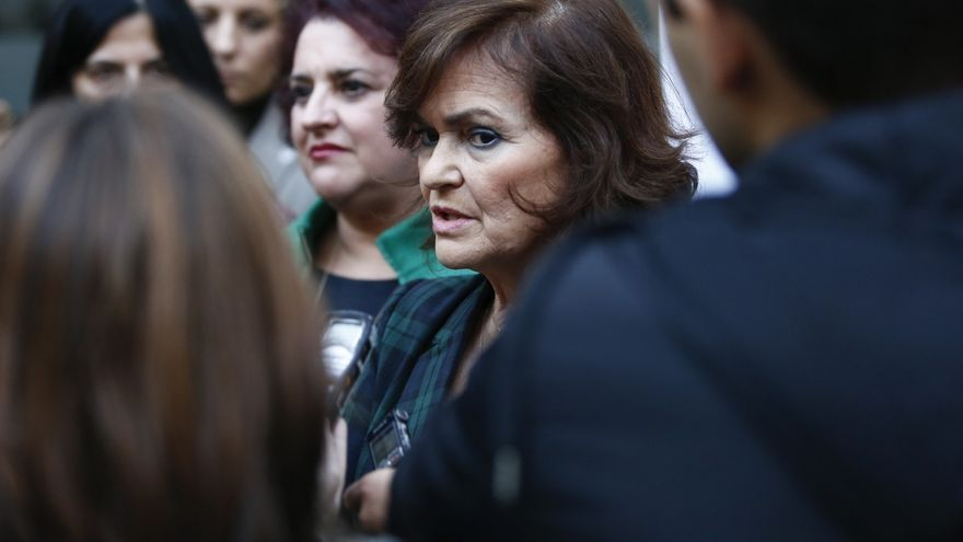 Calvo invita a Torra a apoyar los Presupuestos de Sánchez tras las protestas ciudadanas por los recortes