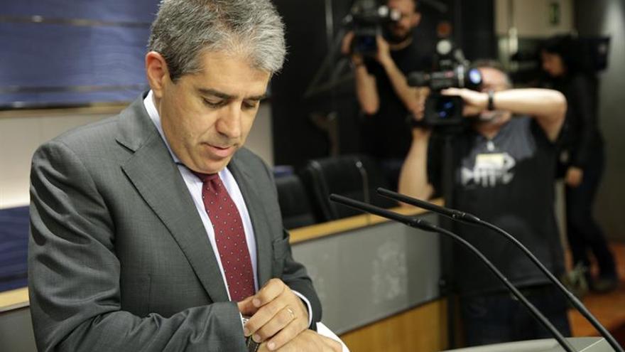 """Homs denuncia una operación para """"desmantelar"""" el Estado autonómico vía TC"""