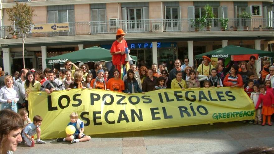 Greenpeace pozos Guadiana acuífero Tierra Barros