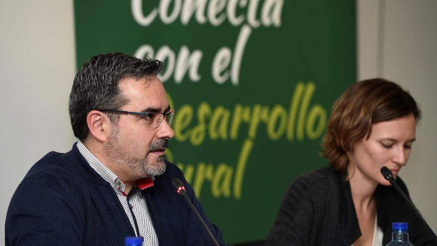 En la imagen, José Juan Fernández, presidente de RECAMDER