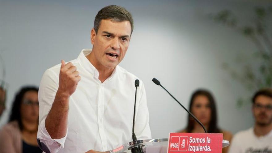 """Sánchez cree que en la Diada se visualizó la """"división de la sociedad catalana"""""""