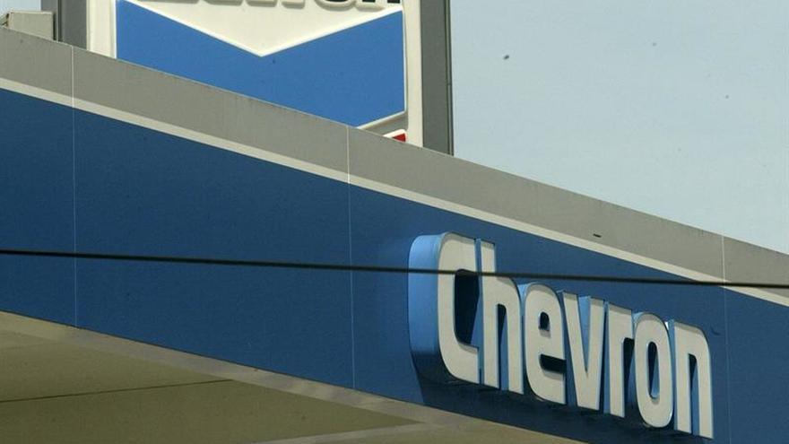 La petrolera Chevron cerró 2016 con unas pérdidas de 497 millones de dólares