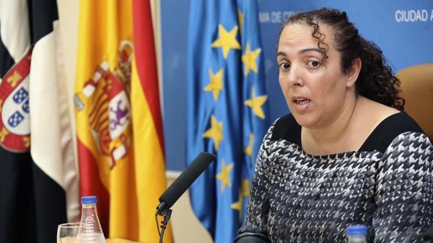La consejera de Educación y Cultura del Gobierno de Ceuta del Partido Popular, Rabea Mohamed.