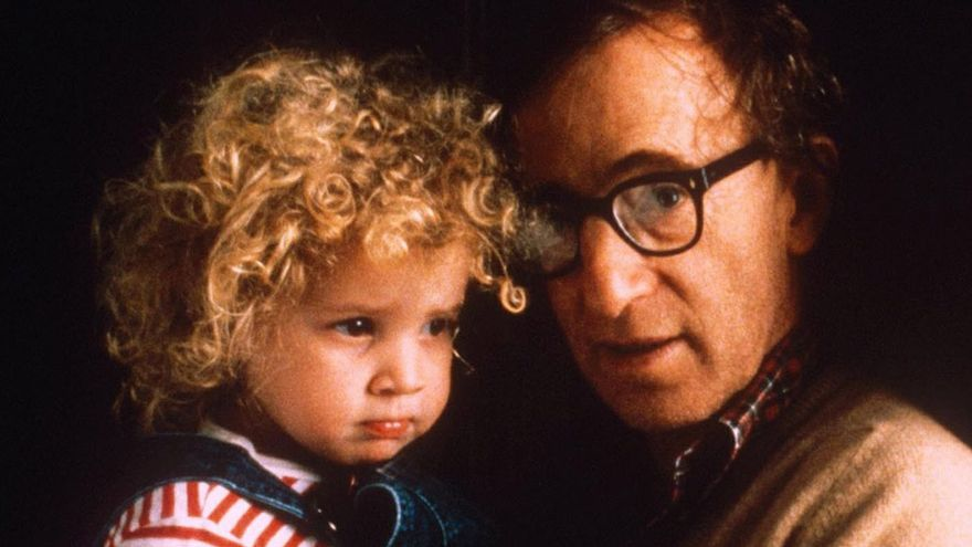 Woody Allen y Dylan Farrow.