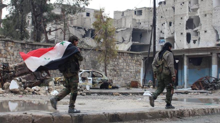 Al menos 46 muertos en un ataque del EI contra posiciones del Ejército en Siria