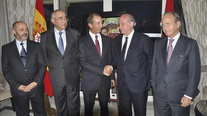 Fernández Díaz recuerda que los flujos migratorios se controlan gracias a Marruecos