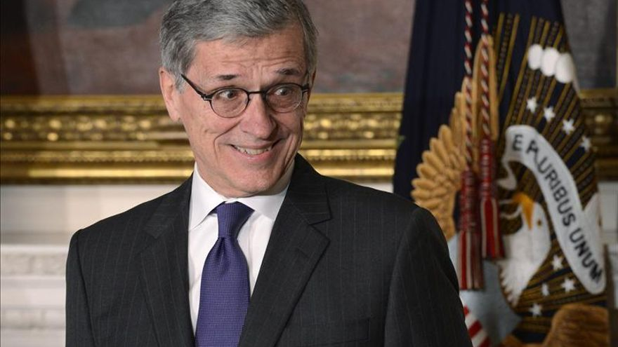 Tom Wheeler, presidente de la Comisión Federal de Comunicaciones (FCC) de EE.UU.   EFE