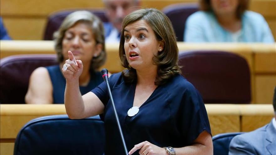"""S.Santamaría acusa a Mas de """"buscar culpables fuera"""" ante el registro en CDC"""