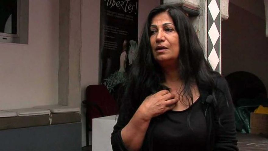 La poeta Hala Mohammad / Revista Al-Qantara