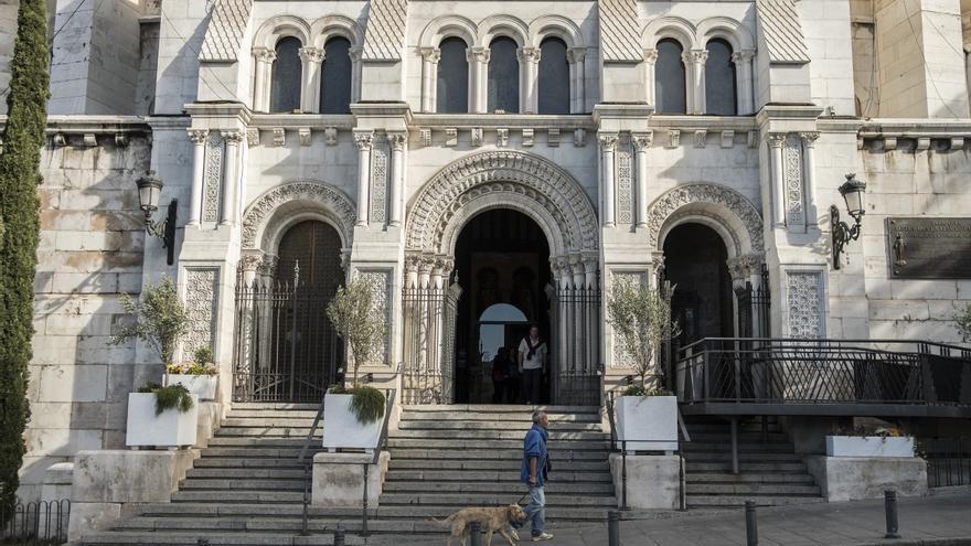 Catedral de la Almudena, en Madrid. / Olmo Calvo