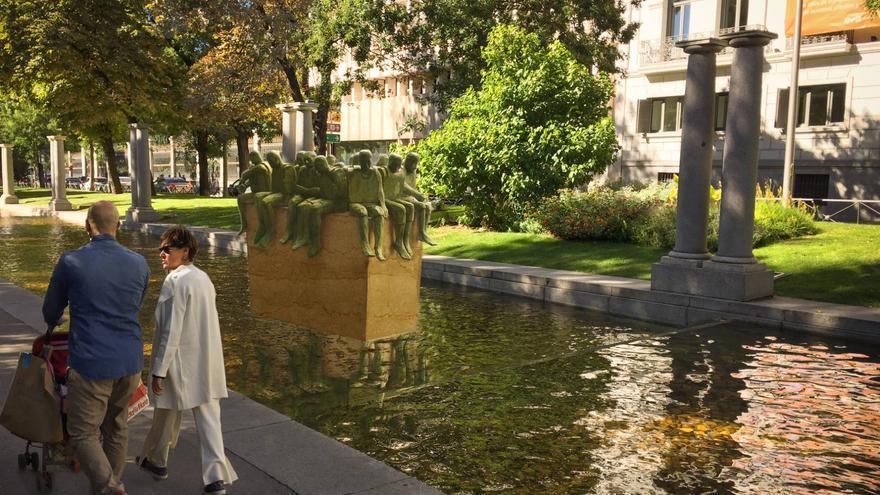 Prototipo de 'Refugiados', escultura de Bel Borba