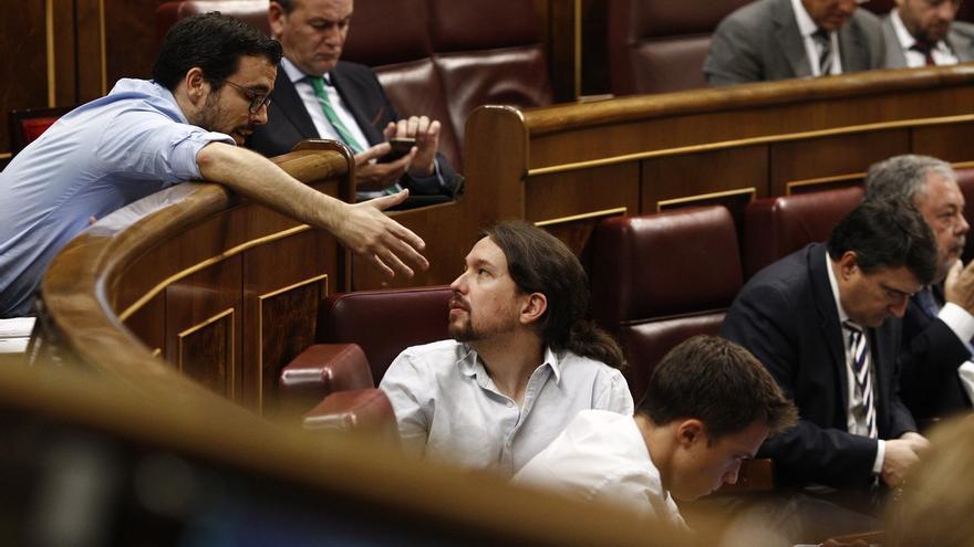 """Garzón cree que con el triunfo de Iglesias """"ha ganado la apuesta por la unidad"""" y consolidación de Unidos Podemos"""