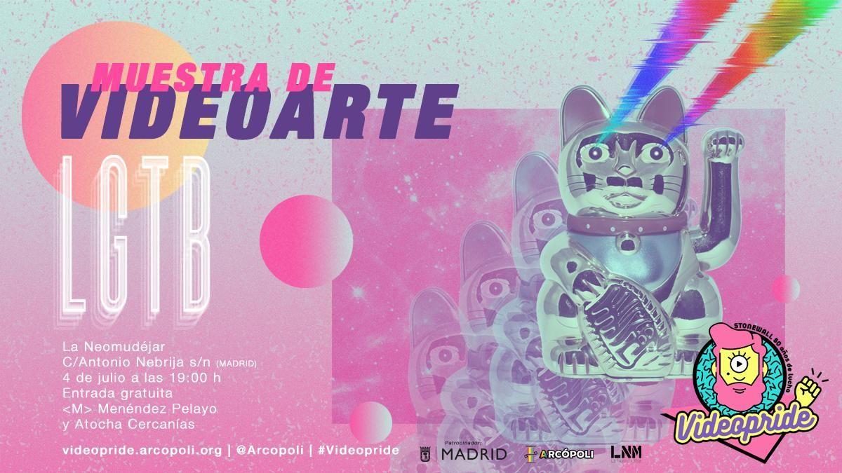 Cartel VideoPride 2019 de Arcópoli | ARCÓPOLI