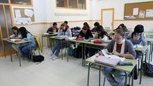Alumnos de Bachillerato en un instituto.