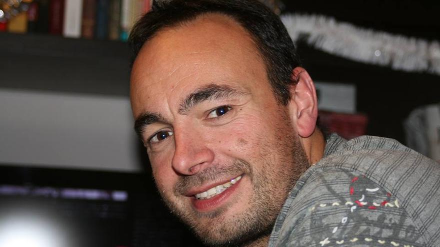 José Ramón Blanco, secretario general de Podemos en Cantabria.