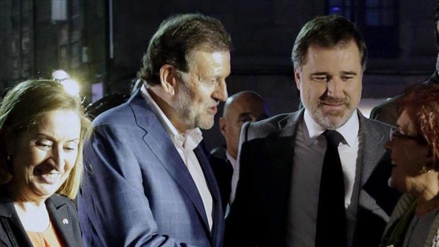 Detenido el joven que agredió a Rajoy en Pontevedra
