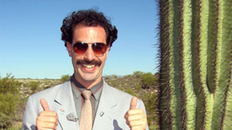 Sacha Baron Cohen es Borat