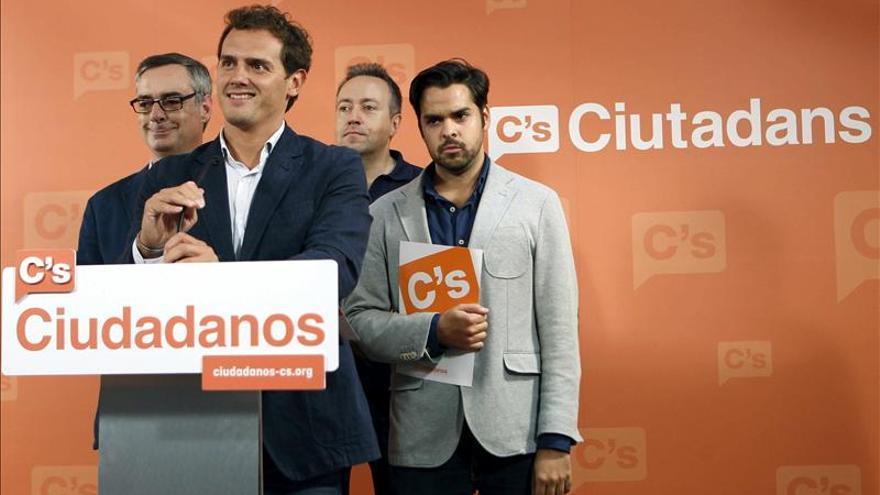 Albert Rivera, Fernando de Páramo, José Manuel Villegas y Juan Carlos Girauta