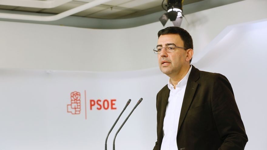 CORR-Jiménez (PSOE) dice a los críticos que ahora es prioritario apoyar la acción política y lo interno es secundario