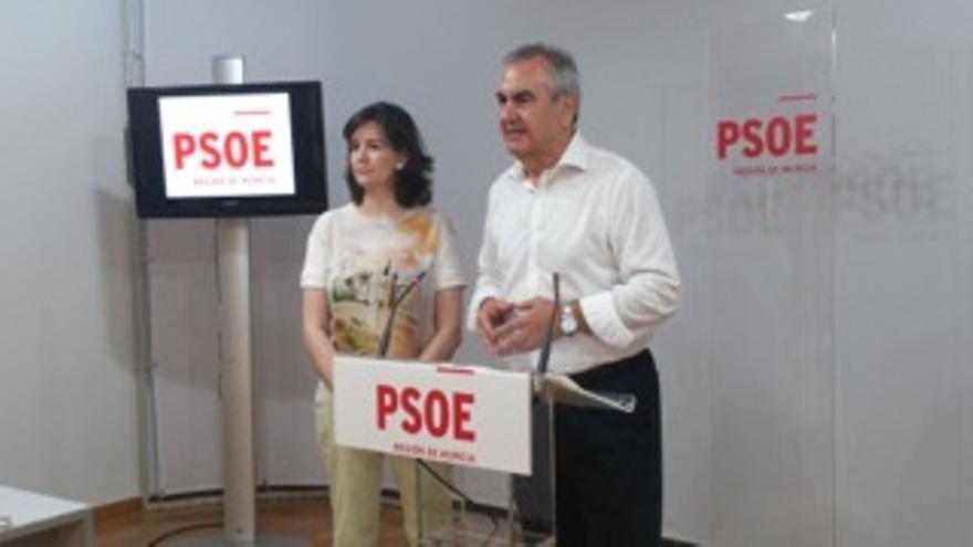 Rafael González Tovar, portavoz del PSOE en la Región de Murcia