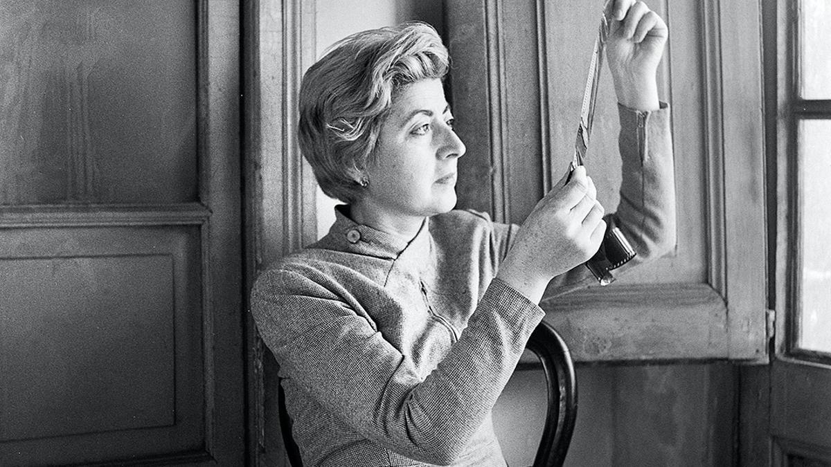 Carmen García Padrosa. 'Autoretrat', 1959. Arxiu Fotogràfic de Barcelona