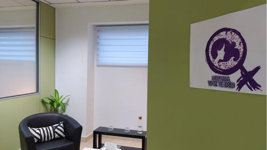 Una de las salas del Centro de Emergencia para las Víctimas de Violencia Sexual