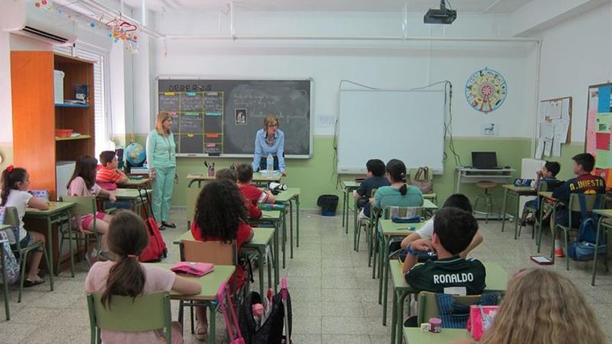El gasto en Educación supone el 4,34% del PIB.