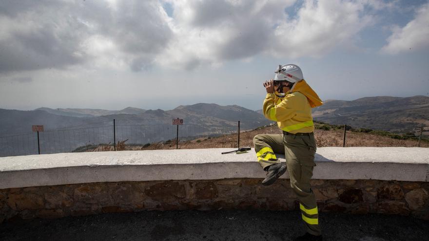 Controlan el incendio del Parque Natural de Tarifa y estabilizan segundo fuego