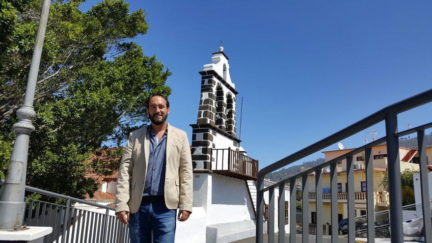 El nacionalista Marcos Lorenzo es alcalde de Tijarafe.