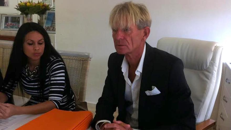 El empresario Eugen Kaiser