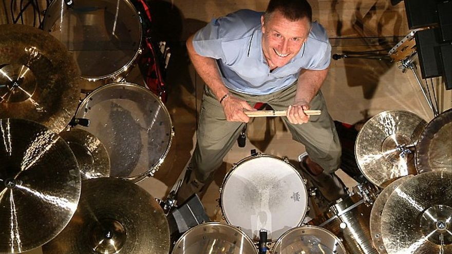 Carl Palmer, batería británico y excomponente de ELP