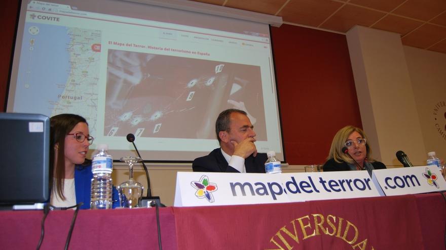 Covite crea el 'Mapa del Terror de Madrid', el primer memorial online de los asesinatos terroristas cometidos en Madrid