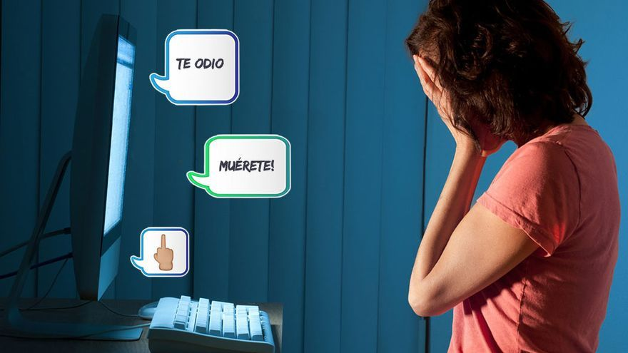 Las redes sociales no están exentas de vejaciones, insultos, amenazas y coerción.