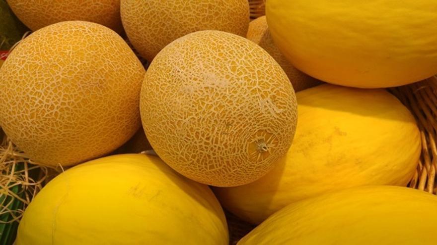 Cómo escoger un buen melón en la frutería