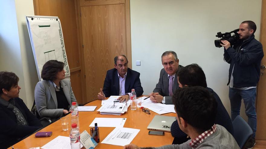 Reunión PSOE-RM con UCOMUR