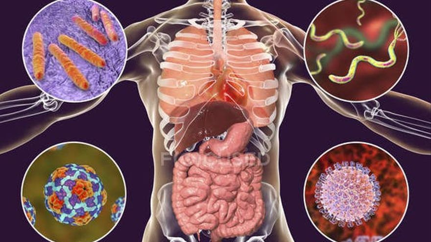 Gastrointestinal symptoms and changes in flora associated with COVID-19