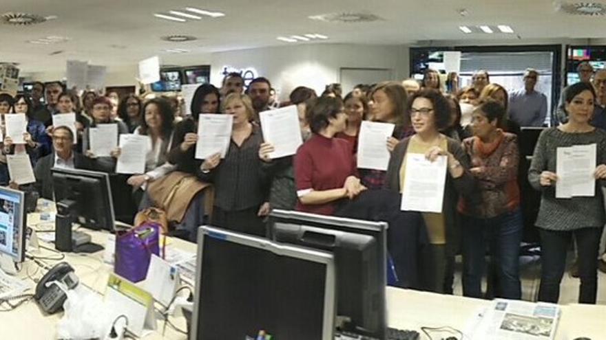 Protesta del Consejo de Informativos de TVE