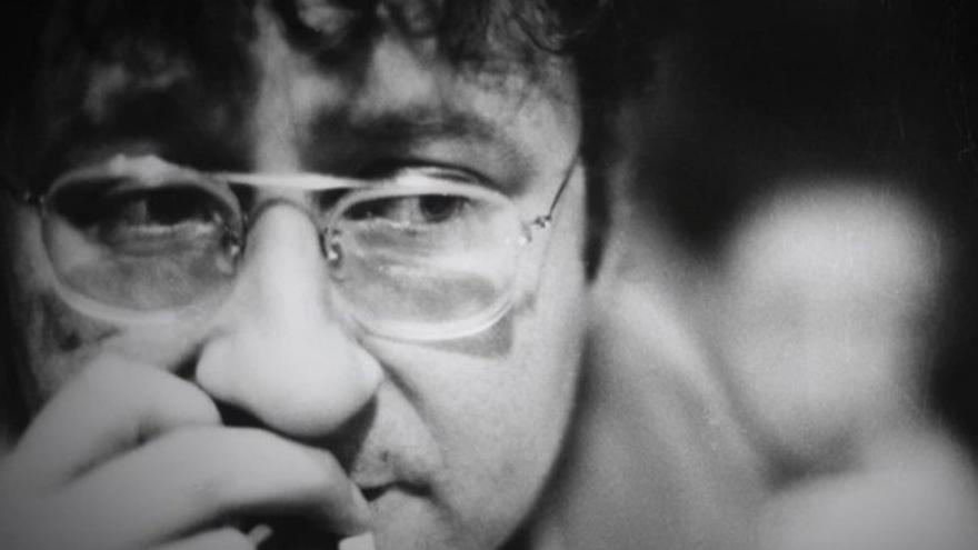 """Guy Debord en septiembre de 1969, captura de pantalla del documental """"Debord, un arte de la guerra"""" (BNF)"""