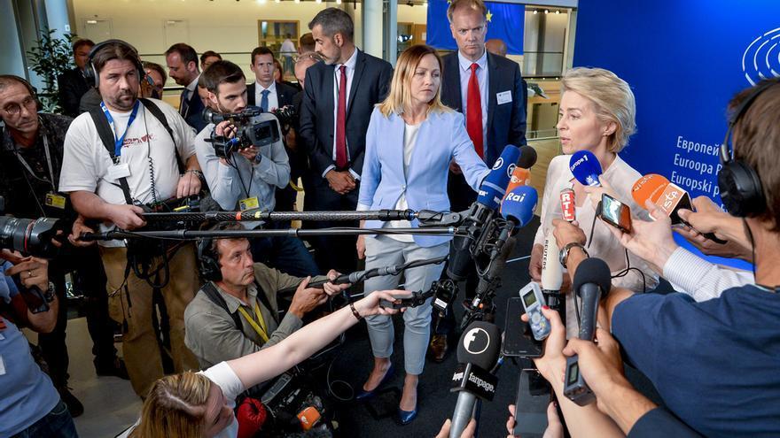 Press point Ursula von der LEYEN, Candidate for President of the European Commission.